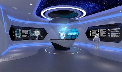 深圳展览展示公司软装设施的布及空间的动态