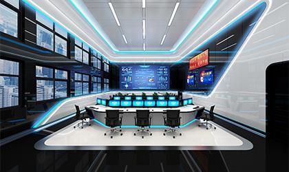 公安数字指挥室