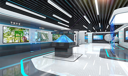 工程技术企业展厅